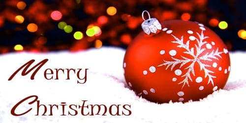 Merry Christmas Wishes to Employees from Office Authority