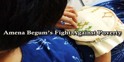 Amena Begum's Fight Against Poverty