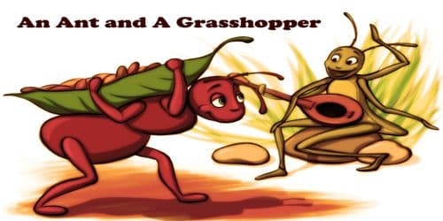 An Ant and a Grasshopper