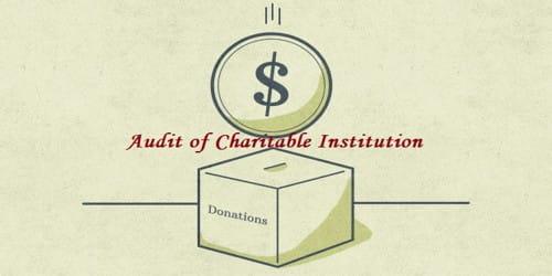 Audit of Charitable Institution