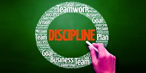 Discipline is a great virtue