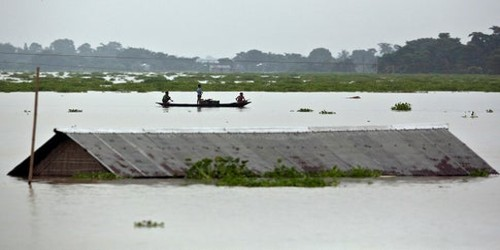 Flood a Natural Calamity in Bangladesh