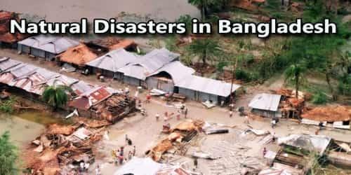 Natural Disasters in Bangladesh