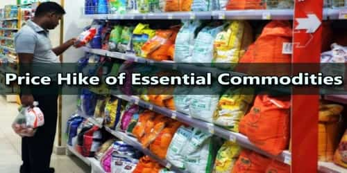 Price Hike of Essential Commodities