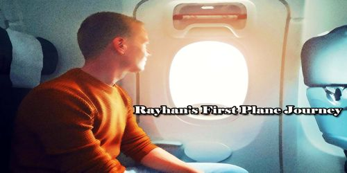 Rayhan's First Plane Journey