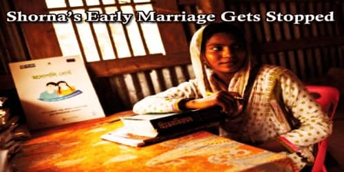 Shorna's Early Marriage Gets Stopped