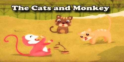 The Cats and Monkey
