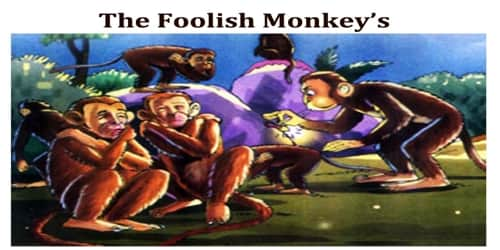 The Foolish Monkey's