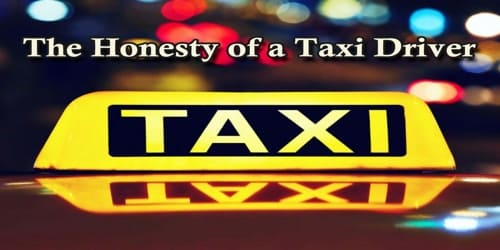 The Honesty of a Taxi Driver