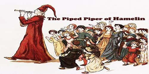 The Piped Piper of Hamelin