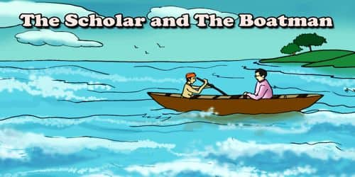 The Scholar and The Boatman