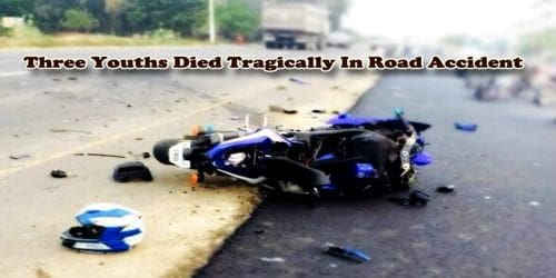 Three Youths Died Tragically In Road Accident
