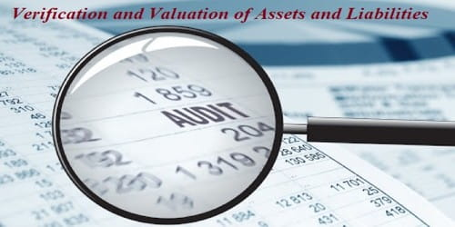 Significance of Verification and Valuation of Assets and Liabilities