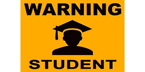 Warning Notice Letter Format to Students