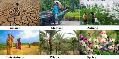 The Seasons in Bangladesh