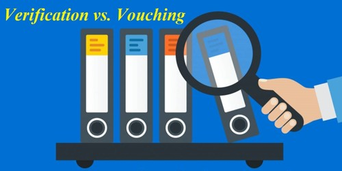 Common dissimilarities between Verification and Vouching