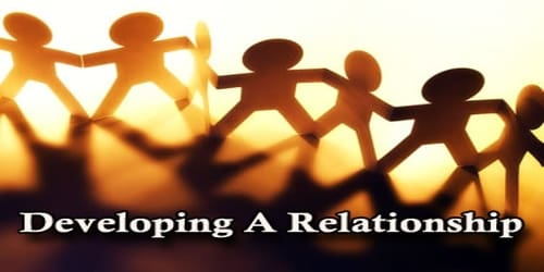 Developing A Relationship