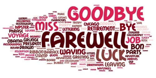 Farewell Speech by Volunteer in a Social Organization
