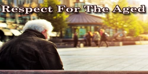 Respect For The Aged