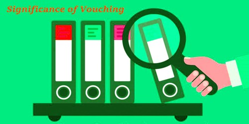 Significance of Vouching
