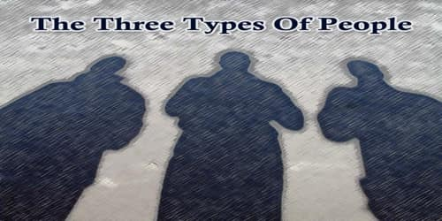 The Three Types Of People