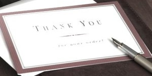 Business Thank you Letter – Formal Format