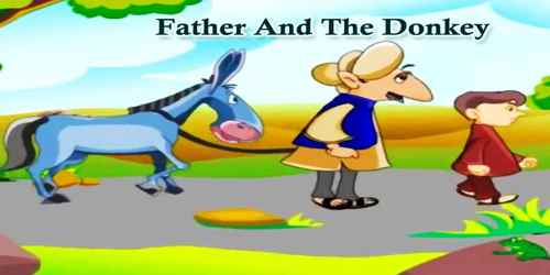 Father And The Donkey