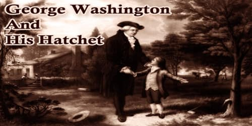 George Washington And His Hatchet