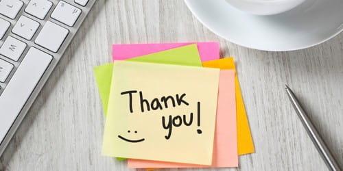 Informal Gratitude Letter
