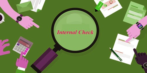 Concept of Internal Check