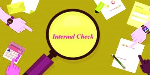 Objectives of Internal Check