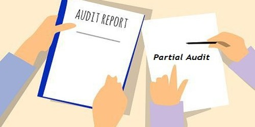 Objectives of Partial Audit