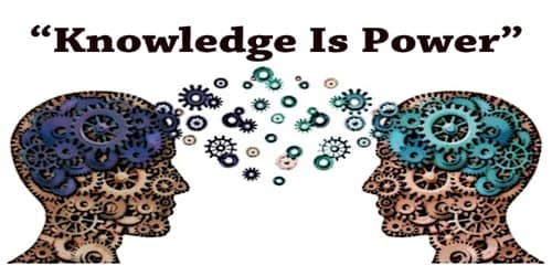 Paragraph On Knowledge Is Power