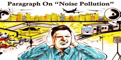 Paragraph On Noise Pollution