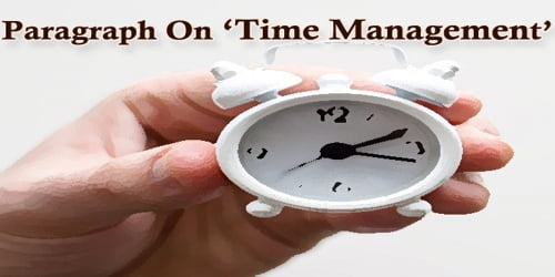 Paragraph On Time Management