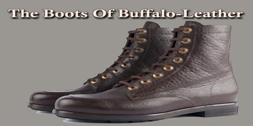 The Boots Of Buffalo-Leather