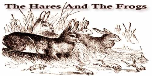 The Hares And The Frogs