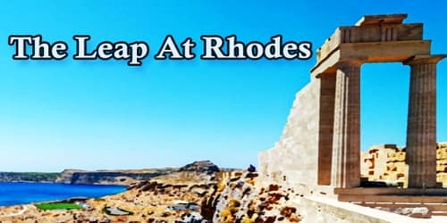 The Leap At Rhodes