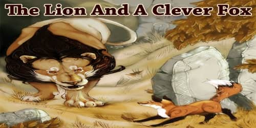 The Lion And A Clever Fox