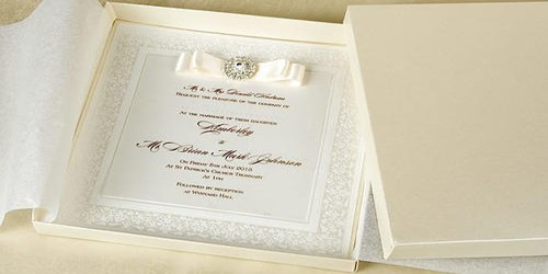 Thank You letter for the Wedding Invitation