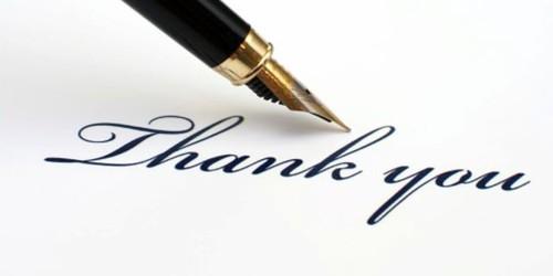 Thank You Letter to express gratitude for Lending Money