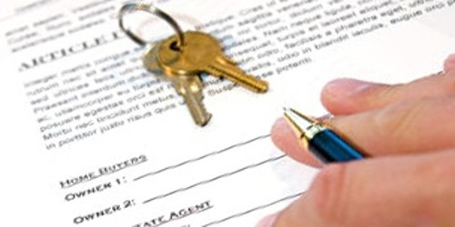 Property Transfer Letter of an organization to another