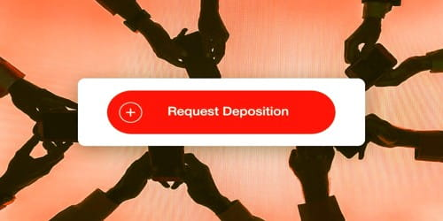 Request for Deposition to Customer