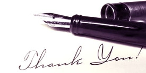 Thank you Letter for Salary Raise or an Award