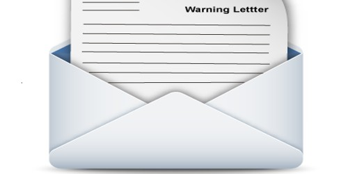 Warning Letter to Employee for Unacceptable Behavior