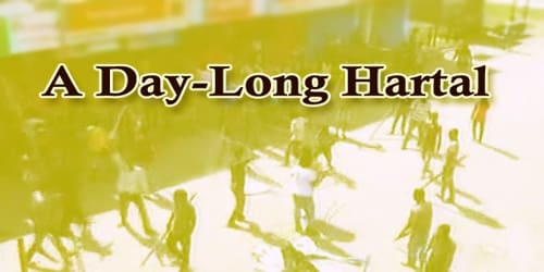 A Report On A Day-Long Hartal