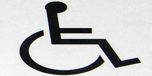 A Disabled Person
