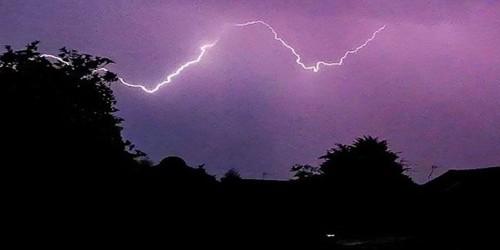A Lightning Struck Night