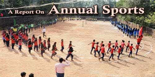 A Report On Annual Sports Of (Institution Name)……. School/College Held