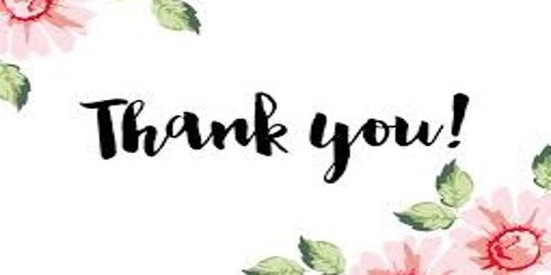 Appreciation Thank You Letter